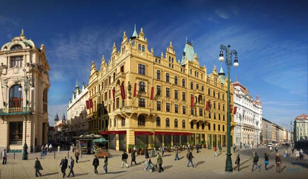 Kings court hotel prague for Hotels in prague centre